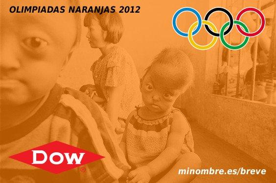 El fabricante del agente naranja, patrocinador de las Olimpiadas 2012