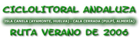 CicloLitoral Andaluza Verano de 2006