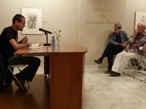 JLP, Eloy Sánchez Rosillo, Soren Peñalver. Murcia, 2009.