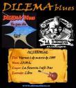 Cartel del concierto de Dilema Blues