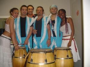 Pasacalles de Candombe y Sergio Fernández