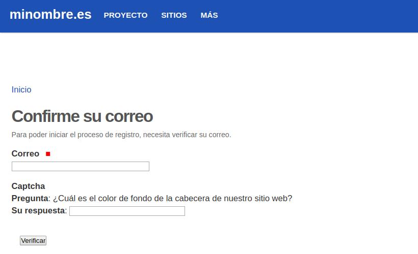 Registro de usuarios/as
