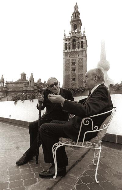 Borges y Torrente (Juantxu Rodríguez)