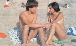 Amanda Langlet en Pauline en la playa. Fotografía de Néstor Almendros